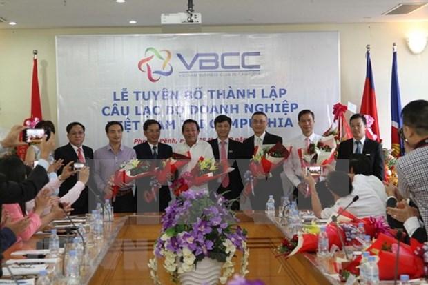 Estrenan Club de empresarios vietnamitas en Camboya hinh anh 1