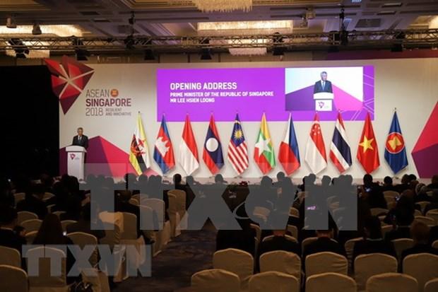 Inauguran 50 Reunion de Ministros de Economia de ASEAN hinh anh 1