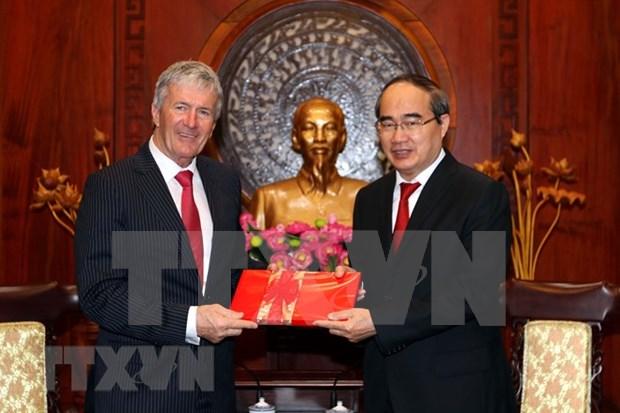 Ciudad Ho Chi Minh y Nueva Zelanda impulsan cooperacion en agricultura hinh anh 1