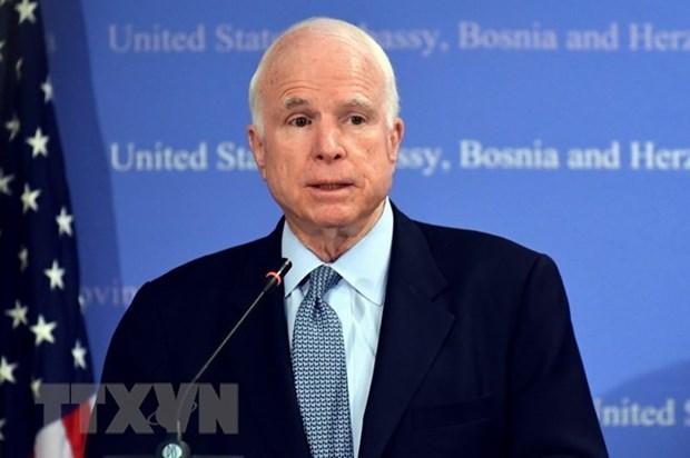 Organizaciones e individuos rinden homenaje en Vietnam a John McCain hinh anh 1