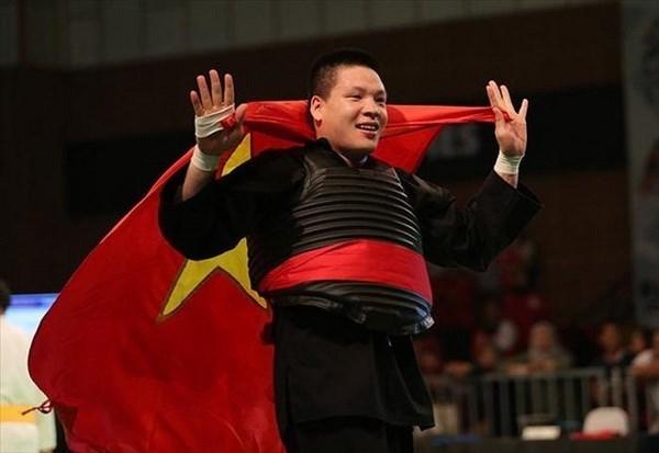 Pencak Silat conquista nueva medalla de oro para Vietnam en juegos continentales hinh anh 1