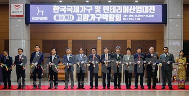 ASEAN celebra feria de productos madereros en Corea del Sur hinh anh 1