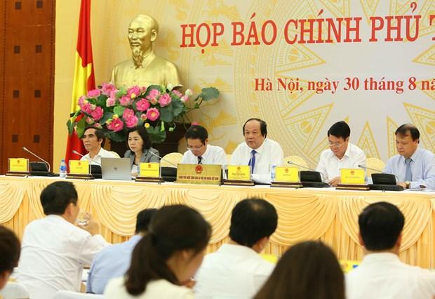 Gobierno de Vietnam se centra en reestructuracion economica, afirma ministro hinh anh 1