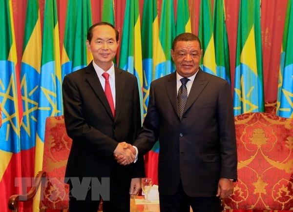 Visita de presidente de Vietnam impulsara nexos con Etiopia y Egipto, evalua vicecanciller hinh anh 1