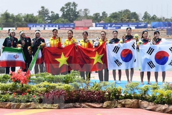 Delegacion vietnamita cumple su meta en juegos continentales con cuatro medallas de oro hinh anh 1