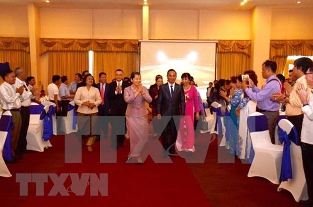 Conmemoran en Phnom Penh Dia Nacional de Vietnam hinh anh 1