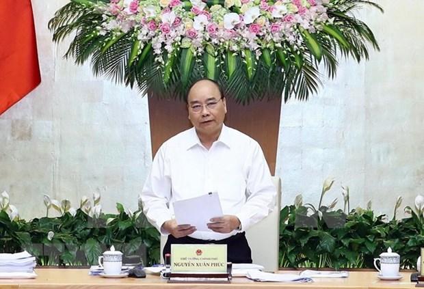 Premier de Vietnam insta a continuar controlando la inflacion en el resto de 2018 hinh anh 1
