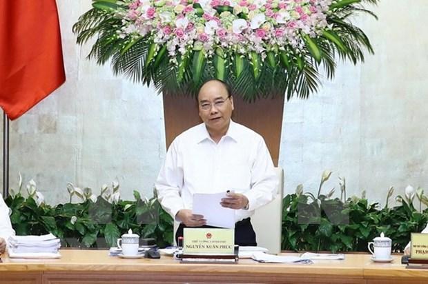 Situacion socioeconomica de Vietnam registra senales alentadoras en agosto, asegura Premier hinh anh 1
