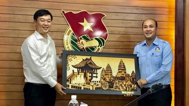Intensifican intercambios jovenes voluntarios de Vietnam y Camboya hinh anh 1