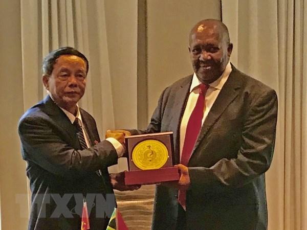 Vietnam y Sudafrica fomentan nexos de cooperacion en defensa y seguridad hinh anh 1