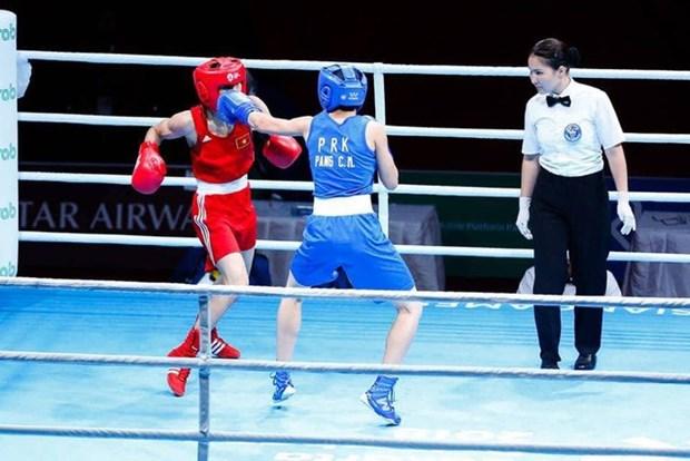 ASIAD 2018: Vietnam gana medalla de bronce en el boxeo hinh anh 1