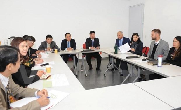 Vietnam y Mexico intercambian experiencias en administracion publica hinh anh 1