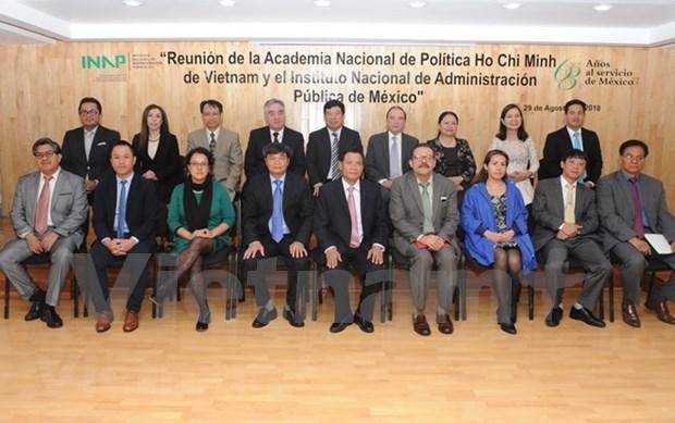 Vietnam y Mexico intercambian experiencias en administracion publica hinh anh 2