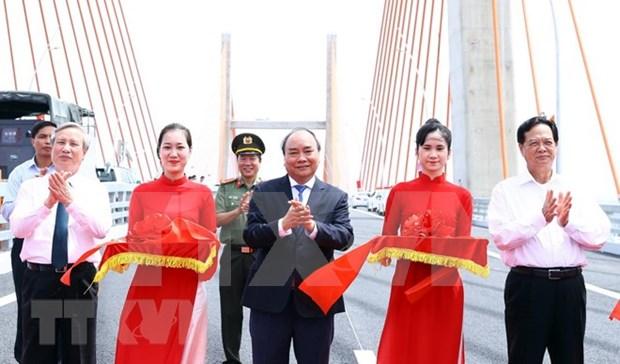 Inauguran en Vietnam autopista Ha Long-Hai Phong hinh anh 1