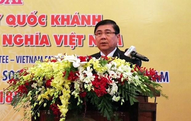 Ciudad Ho Chi Minh conmemora Fiesta Nacional hinh anh 1