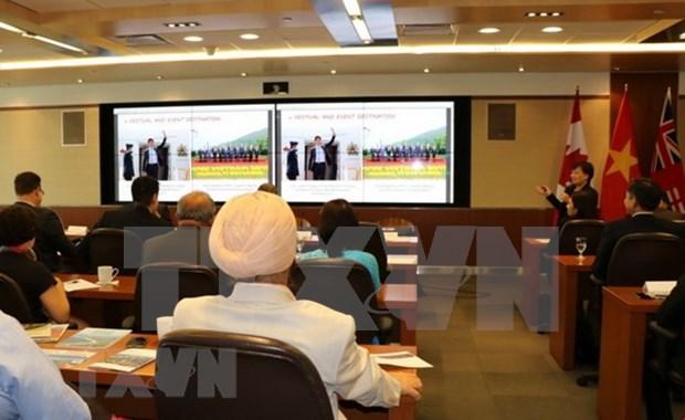 Impulsan cooperacion de comercio e inversion entre ciudades vietnamita y canadiense hinh anh 1