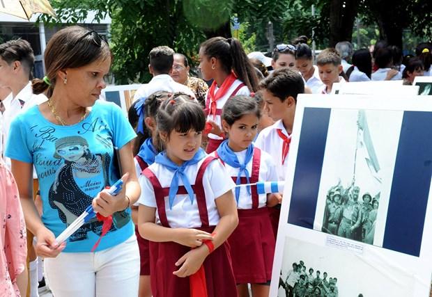 Inicia Cuba actos conmemorativos con motivo de visita historica de Fidel a Vietnam en 1973 hinh anh 3