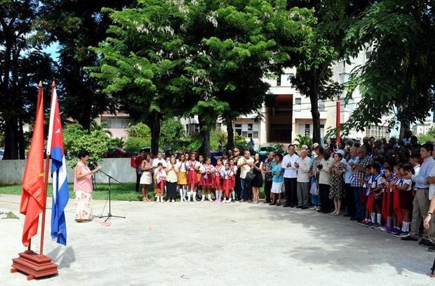 Inicia Cuba actos conmemorativos con motivo de visita historica de Fidel a Vietnam en 1973 hinh anh 2