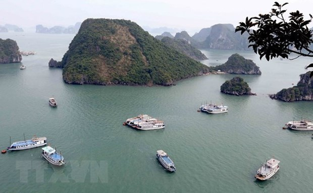 Provincia vietnamita de Quang Ninh atrae a gran numero de turistas en asueto por Dia Nacional hinh anh 1