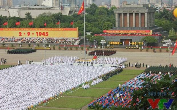 Dirigentes del mundo felicitan a Vietnam por su Dia Nacional hinh anh 1