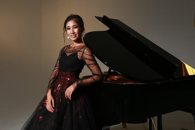 Pianista australiana-vietnamita actuara en Vietnam en ocasion de nexos diplomaticos entre ambos paises hinh anh 1