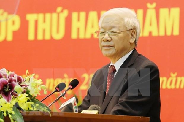 Visita de dirigente partidista de Vietnam profundizara nexos estrategicos con Rusia hinh anh 1