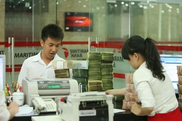 Crecimiento crediticio de Vietnam en lo que va de ano supone el nivel mas bajo desde 2015 hinh anh 1