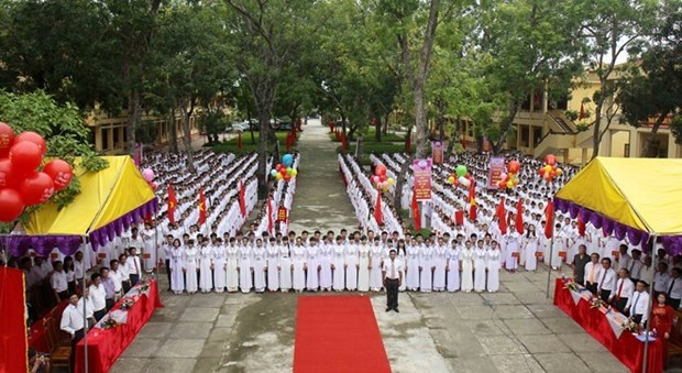 Mas de 23 millones de alumnos vietnamitas entran en ano escolar 2018-2019 hinh anh 1