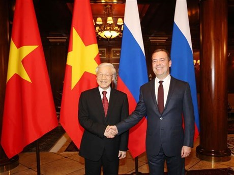 Vietnam concede importancia al fomento de asociacion estrategica con Rusia hinh anh 1