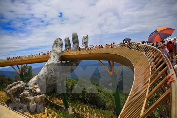 Registran fuerte aumento en llegadas turisticas a ciudad vietnamita de Da Nang hinh anh 1