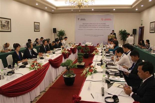 Ciudades de Vietnam y Japon cooperan para reducir emisiones de carbono hinh anh 1