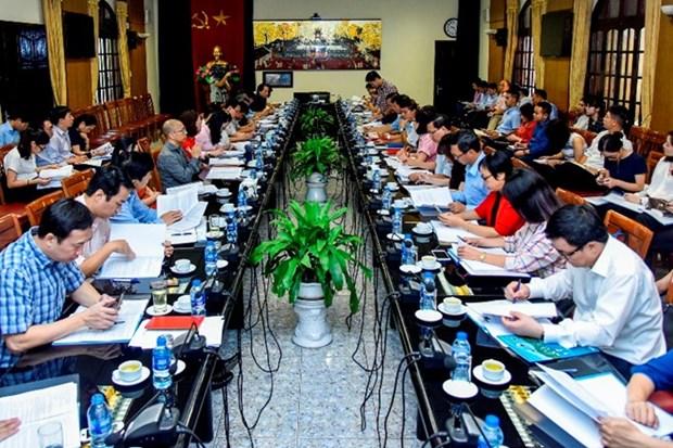 Vietnam revisa preparativos para Foro Economico Mundial sobre la ASEAN hinh anh 1
