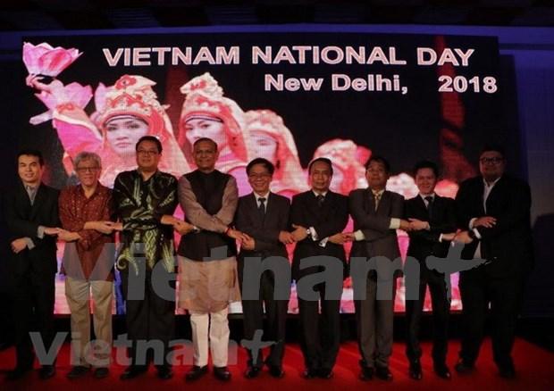 Continuan actividades conmemorativas por Dia de Independencia de Vietnam en ultramar hinh anh 1
