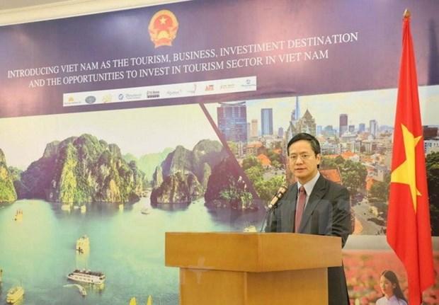 Vietnam divulga potencialidades para atraer inversiones de Indonesia hinh anh 1