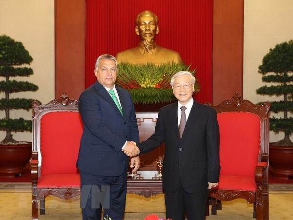 Visita del dirigente partidista vietnamita a Hungria abre expectativas a nexos bilaterales hinh anh 1