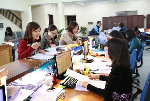Auditoria Estatal de Vietnam considera una prioridad aplicacion de TI hinh anh 1