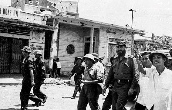 Fidel en el centro de Vietnam, en los corazones de los vietnamitas hinh anh 3