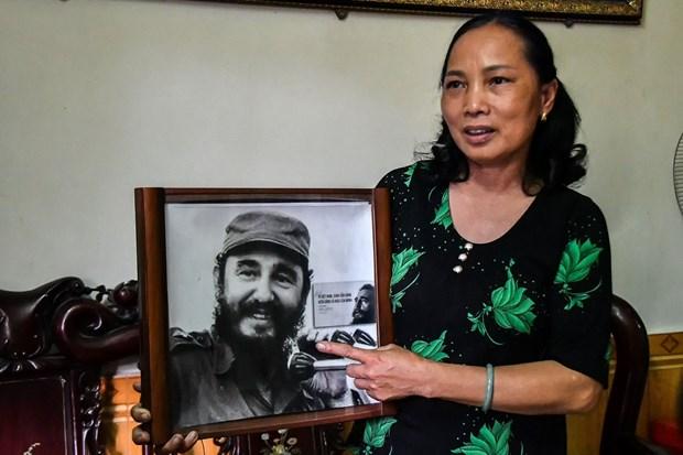 Fidel en el centro de Vietnam, en los corazones de los vietnamitas hinh anh 5