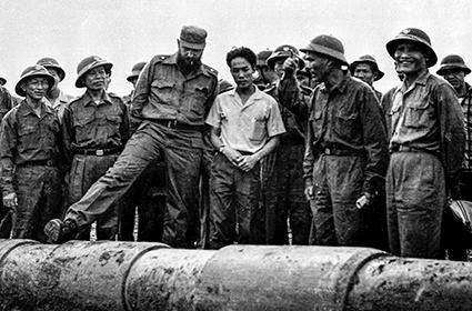 Fidel en el centro de Vietnam, en los corazones de los vietnamitas hinh anh 6