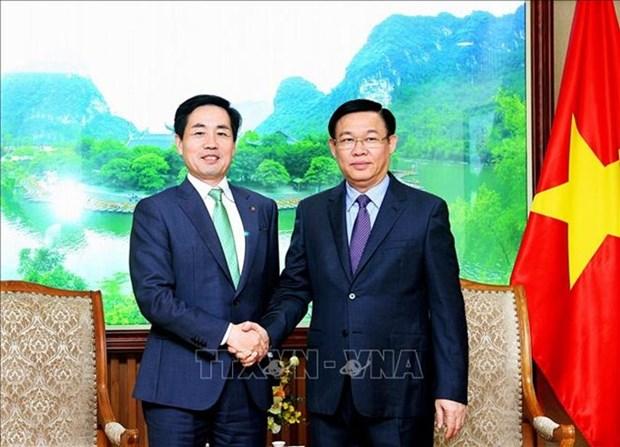 Vietnam apoya la expansion del grupo surcoreano Lotte, afirma vicepremier hinh anh 1