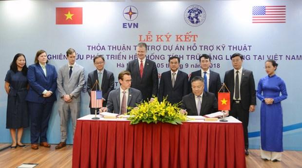 Ayuda no reembolsable de Estados Unidos al desarrollo energico en Vietnam hinh anh 1