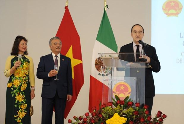 Nutrida participacion en acto conmemorativo por Dia Nacional de Vietnam en Mexico hinh anh 2