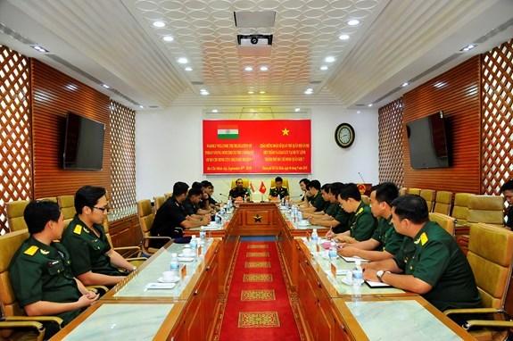 Delegacion militar de la India visita Ciudad Ho Chi Minh hinh anh 1