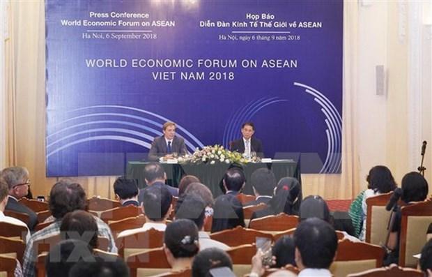 Mas de mil dirigentes mundiales y ejecutivos participaran en Foro Economico sobre ASEAN en Vietnam hinh anh 1
