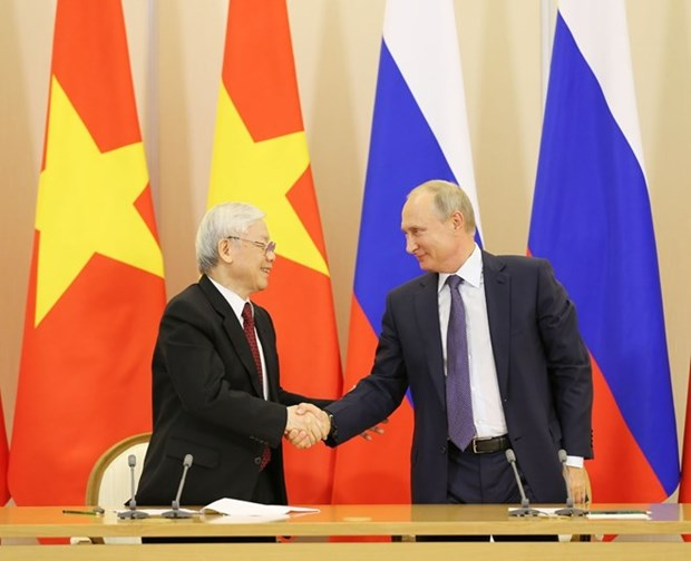 Vietnam y Rusia identifican orientaciones para la asociacion estrategica integral bilateral hinh anh 1