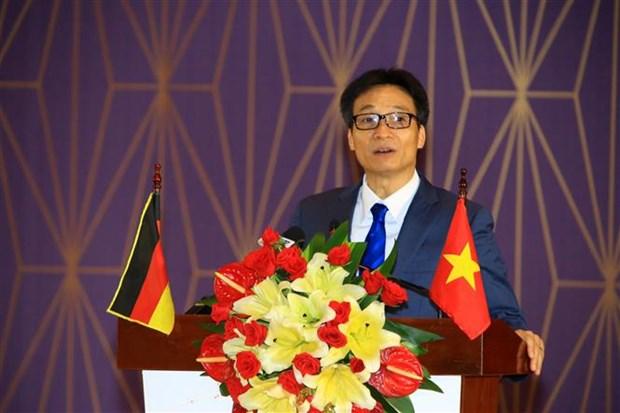 Universidad Vietnam-Alemania, simbolo de colaboracion de educacion bilateral hinh anh 1