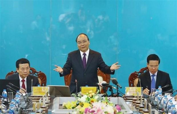 Primer ministro: Vietnam debe convertirse en una potencia en tecnologia de la informacion hinh anh 1