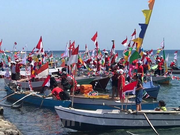 Indonesia impulsa desarrollo de la economia marina traves de regata de veleros hinh anh 1