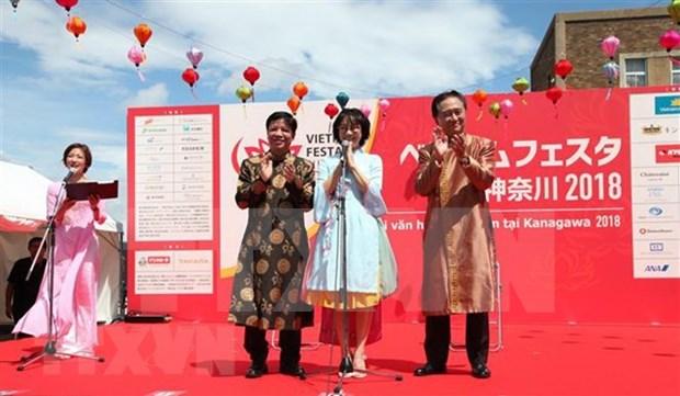 Divulgan belleza de la cultura vietnamita en ciudad japonesa hinh anh 1