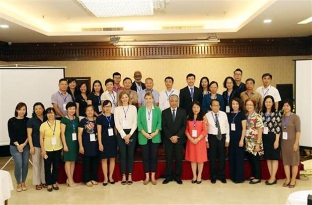 Efectuan reunion de preparacion para Foro de ASEAN sobre migracion laboral hinh anh 1